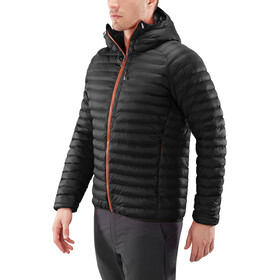 Haglöfs Essens Mimic Hooded Jacket Men magnetite/true black